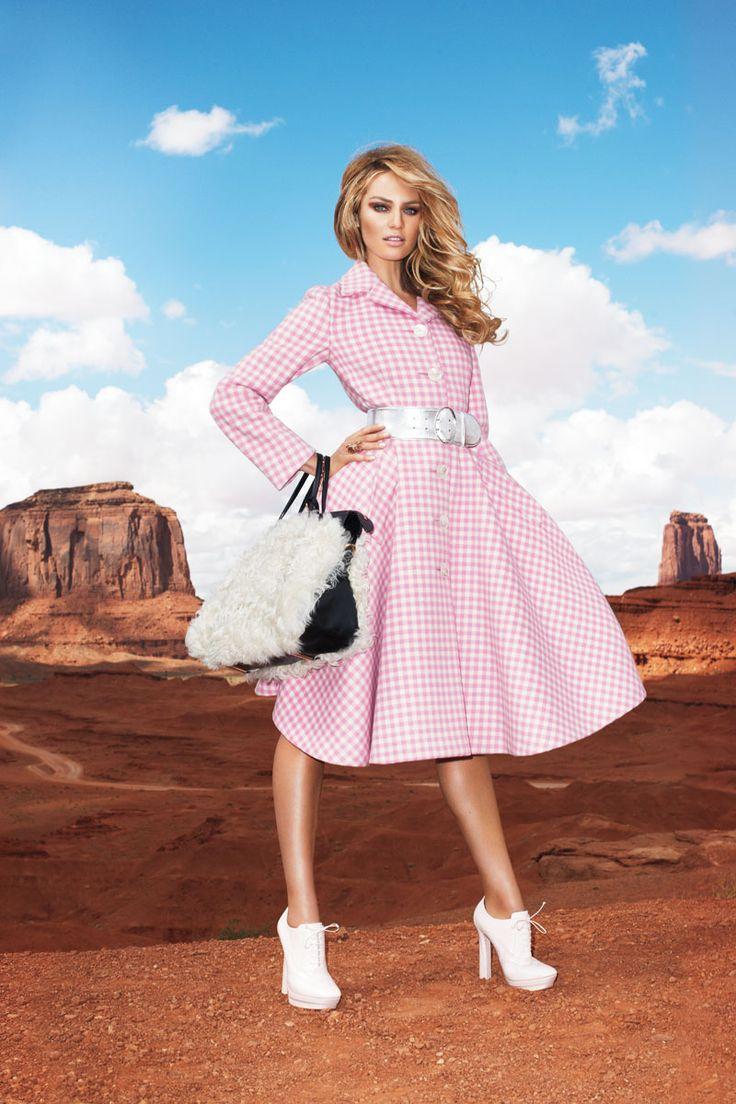 Candice Swanepoel Fall 2013 Fashion Shoot – Candice Swanepoel Models Blush Fall 2013 Looks - Harper's BAZAAR