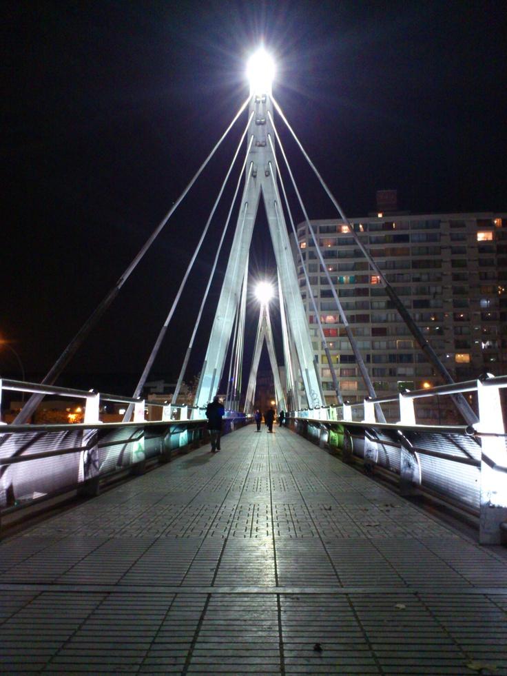 Puente Huérfanos.
