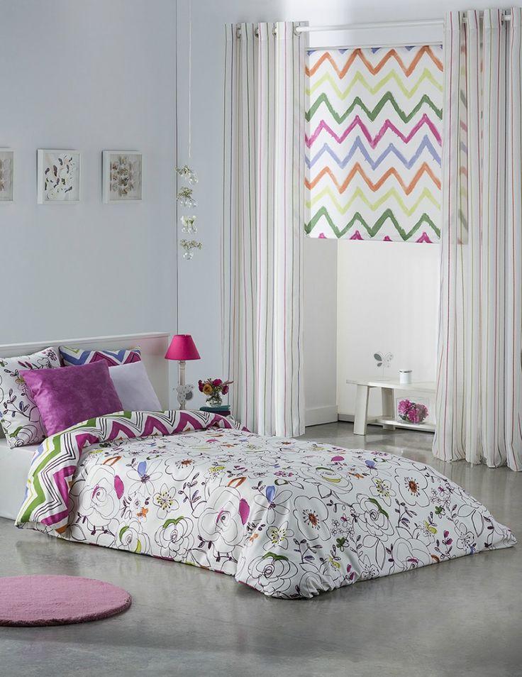 M s de 25 ideas incre bles sobre cortinas juveniles en for Habitaciones juveniles nordicas