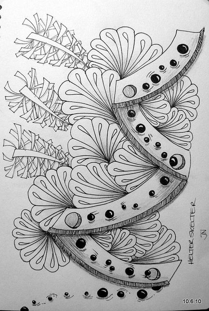 zentangle--I really like this one