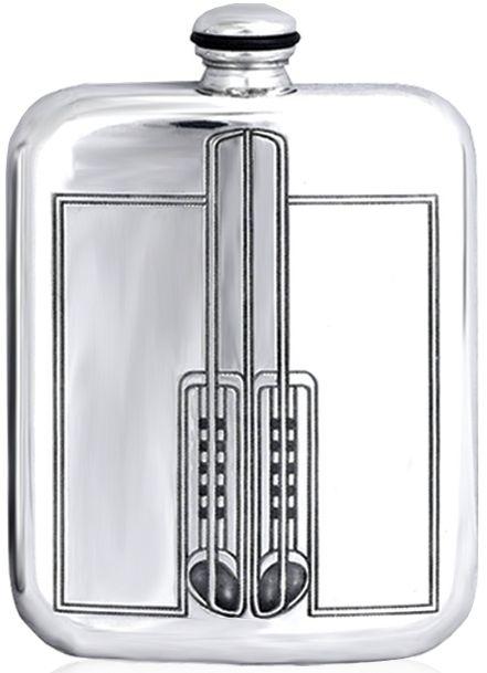 Charles Rennie Mackintosh, hip flask