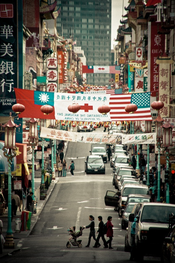 San Francisco Road Map Pdf%0A China Town  San Francisco  California