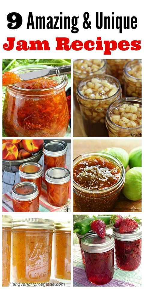 9 Amazing And Unique Jam Recipes