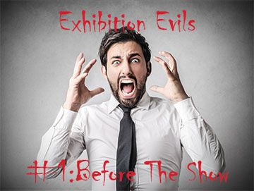#Exhibition #Trade Show Evils - The worst mistakes you can make before an #event. #EventProfs http://www.displaywizard.co.uk/display-hub/5-worst-mistakes-can-make-exhibition/