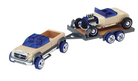 The MET Store, Automoblox MINI Hot Rod Trailer Set, $45, Shop 8, Level 2, QVB.