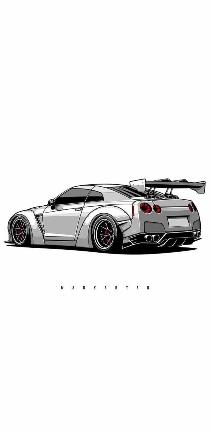 Hd Phone Wallpaper Car Wallpapers Tuner Cars Car Drawings