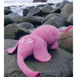 Elefanten Koseklumpen (oppskrift) - Du Store Alpakka