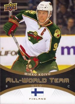 mikko koivu hockey cards | Mikko Koivu All-World Teims