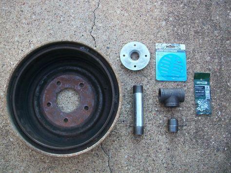 Homemade Metal Brake Design   Basic Brake drum Forge for under $40