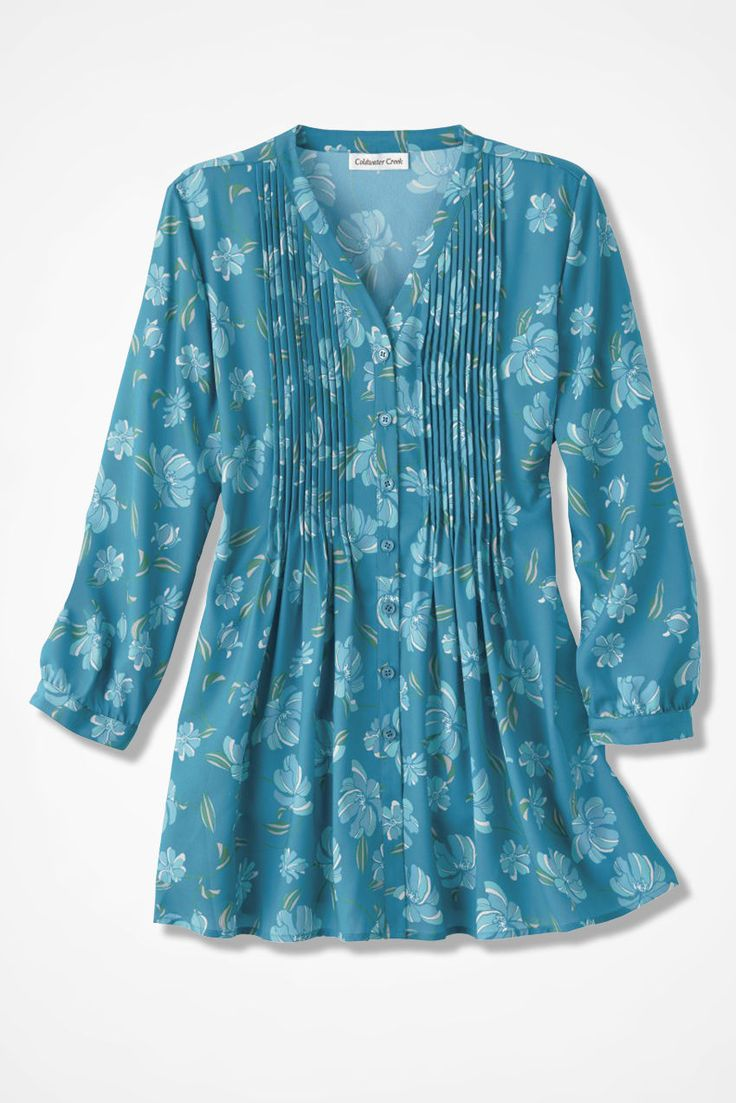 Rhapsody in Blooms Tunic - Coldwater Creek