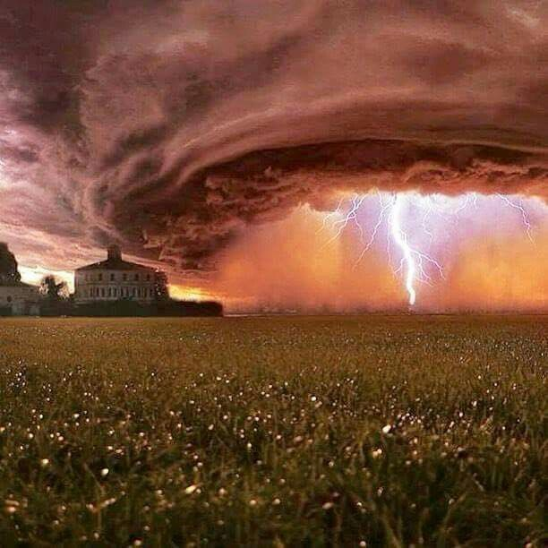 Summer Thunderstorm, Nebraska, Nature