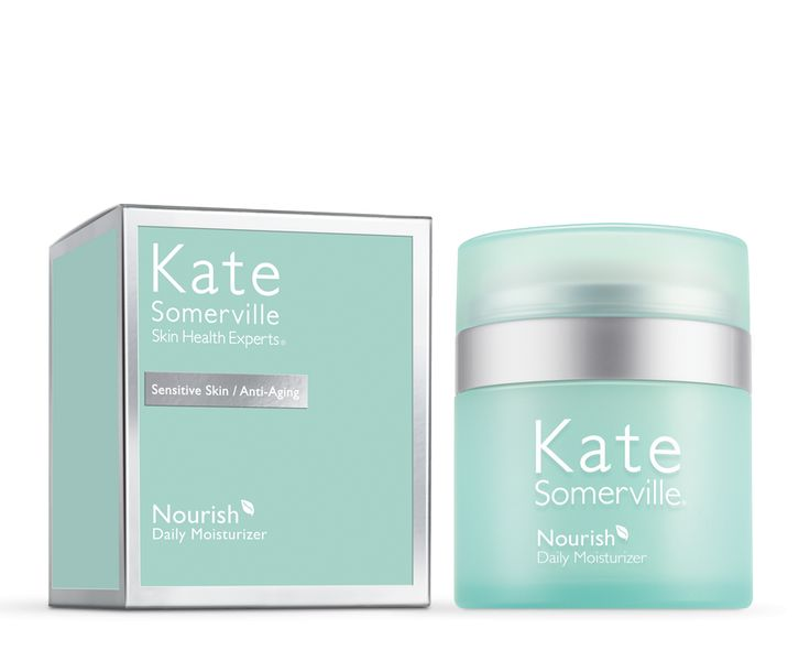 Kate Somerville Nourish Daily Moisturizer helps repair sensitive skin, improve texture, and increase elasticity. Read reviews and buy Kate Somerville products.