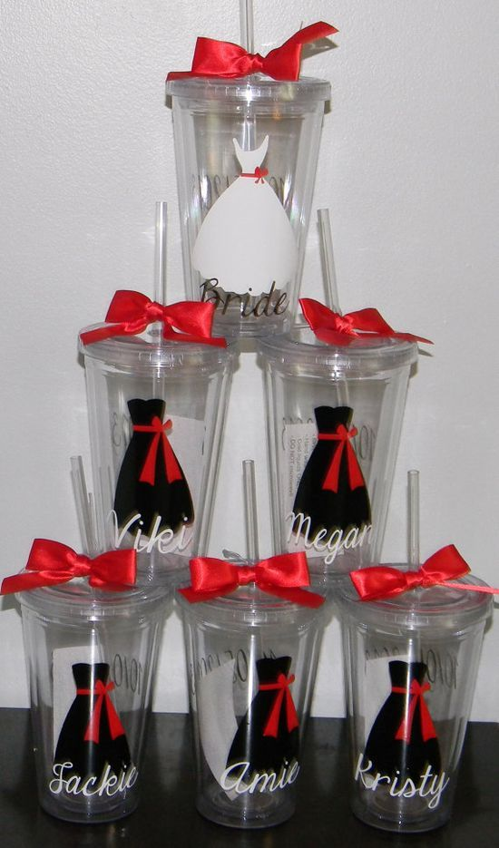 Set of 5 Personalized Bridesmaid Gift by dreamingdandelions, #Party Ideas| http://party-ideas-collections-185.lemoncoin.org