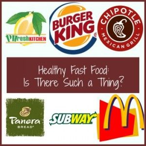 Nutrisystem diet facts fast-food restaurants