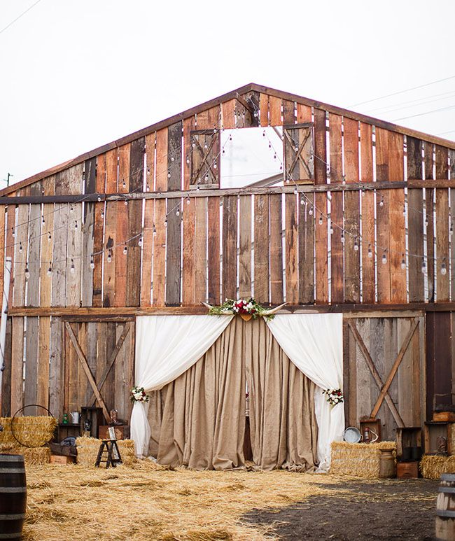 California wild west ranch wedding/Pop up barn. Such a cool idea for those needing space for large guest list.