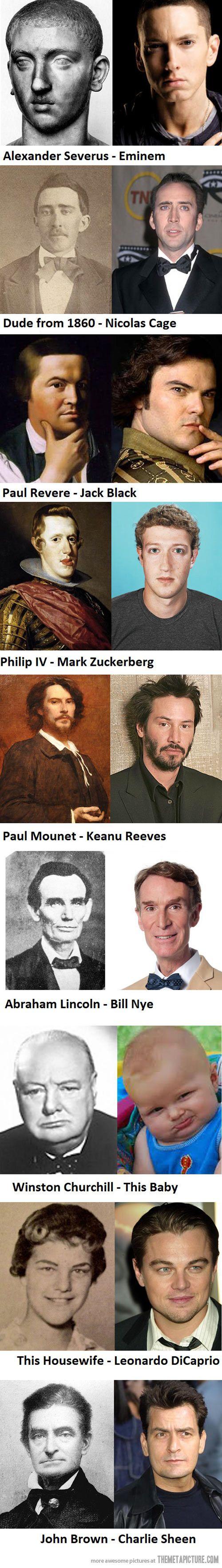 Time travelers or vampires?