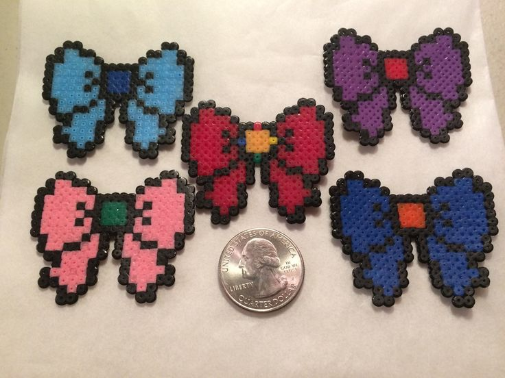 Sailor Scout Bow Necklaces - pinned by pin4etsy.com