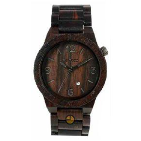 WeWOOD Alpha Black houten horloge kopen - Kish.nl