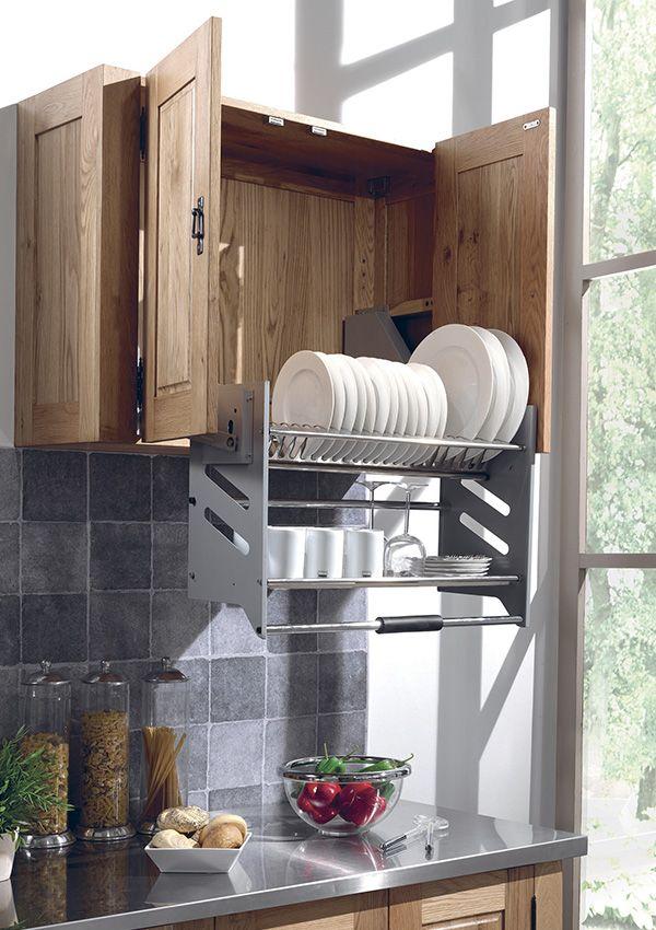 78 best ideas about meuble haut de cuisine on pinterest meuble haut cuisine couleurs de for Meuble haut gris cuisine avec porte vitree 2 abattants
