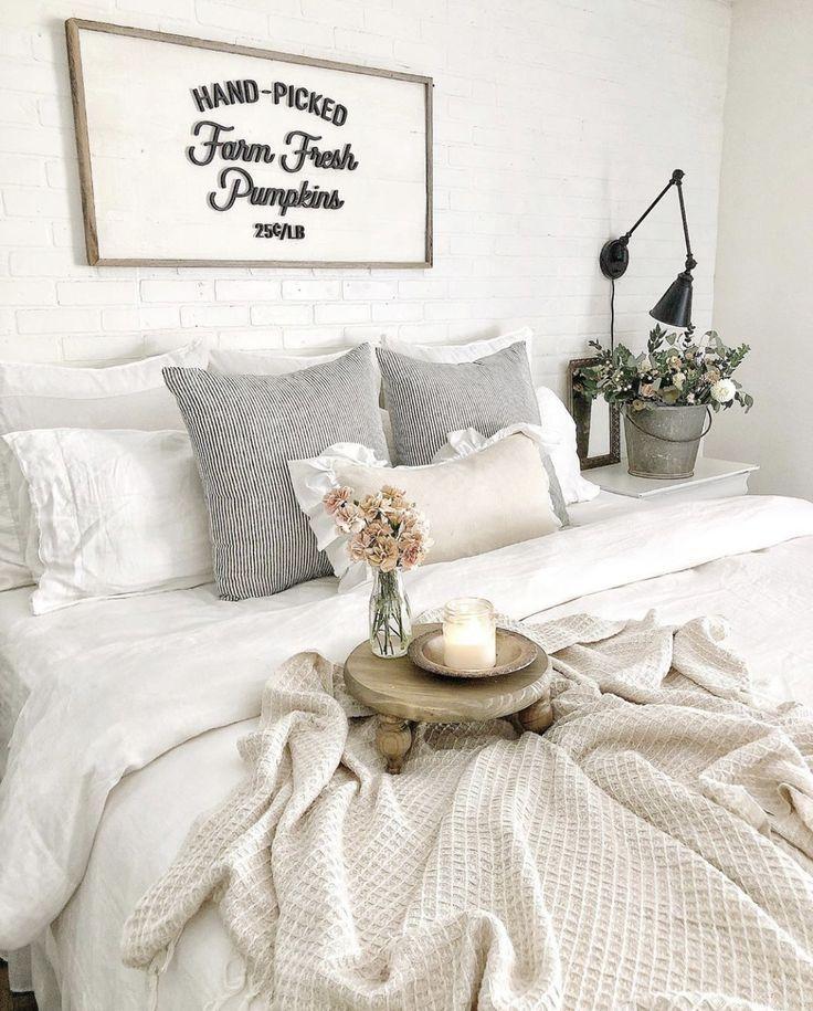 33+ Farmhouse decor bedroom ideas information