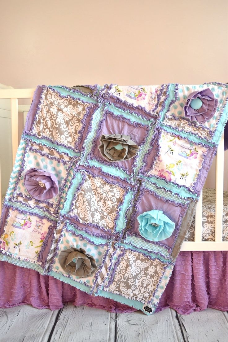 Baby bedding lamb theme sweet pea lamb baby bedding and nursery - Bumperless Crib Bedding Sets Purple Baby Bedding Aqua Gray Purple Baby Bedding