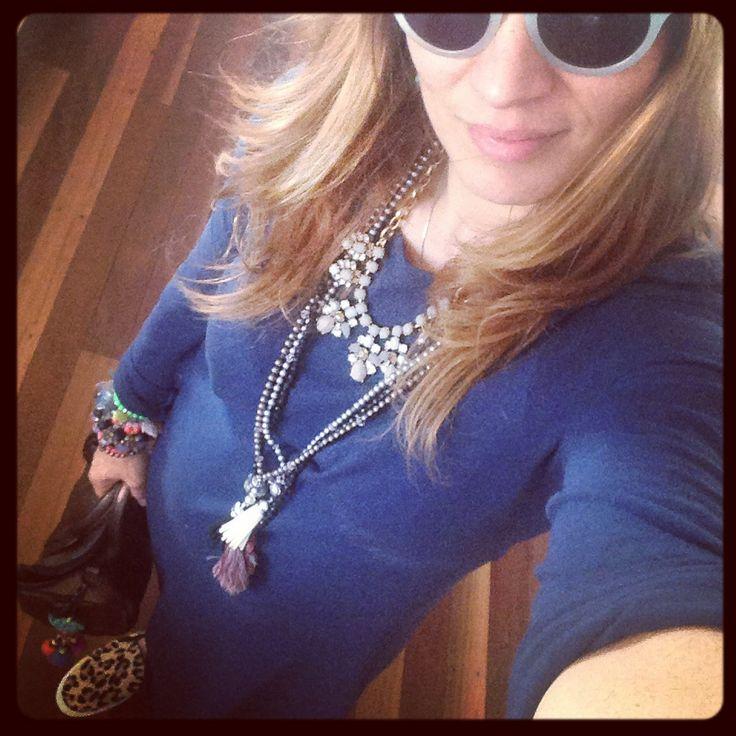 Bassike Navy dress, Seed Ocelet sneakers, Alexander Wang Rocky Bag, JCrew necklace, Madewell sunglasses