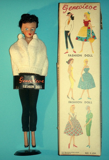 my boxed Genevieve doll by Virgin-Archer, via Flickr
