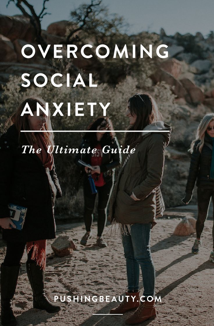 The Ultimate Guide To Overcoming Social Anxiety