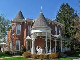 Victorian architecture, Main St. (National Road), Knightstown, IN