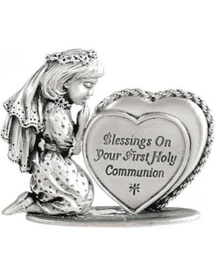 Beeldje Eerste Heilige Communie (meisje)