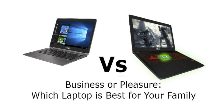 Business or Pleasure: Which Laptop Is Best for Your Family? - https://geekdad.com/2017/01/business-or-pleasure-which-laptop-is-best-for-your-family/?utm_campaign=coschedule&utm_source=pinterest&utm_medium=GeekMom&utm_content=Business%20or%20Pleasure%3A%20Which%20Laptop%20Is%20Best%20for%20Your%20Family%3F