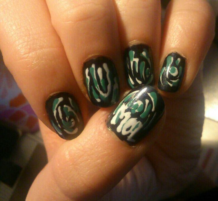 Wie is de mol?! Nail art