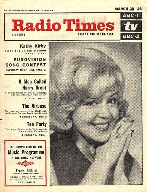 650320 - Radio Times - March 20th 1965 - Eurovision Song Contest - Kathy Kirby by Bradford Timeline, via Flickr