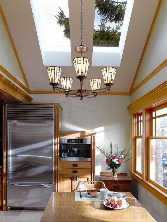 Vancouver, BC. Major renovation. Secondary kitchen with great skylights.