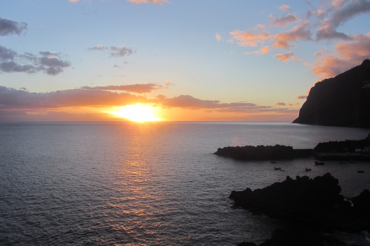 Sunset in Câmara de Lobos
