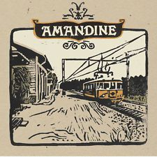 This Is Where Our Hearts Collide by Amandine (2005) CD & PAPER SLEEVE ONLY