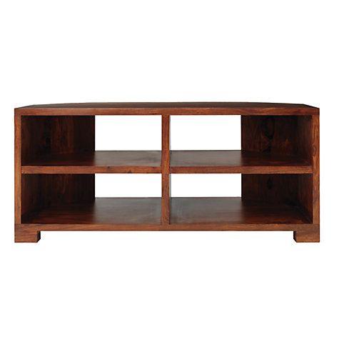 "Buy John Lewis Stowaway Corner TV Stand for TVs up to 37"" Online at johnlewis.com"