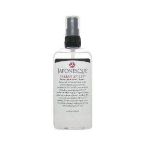 Japonesque Parian Spirit Professional Brush Cleaner 128ml/4.25oz by Japonesque. $10.95. Dissolves all types of makeup.. Enviromentally safe.. Preferred brush cleaning solution for professionals.. The preferred cleaning solution for gently cleaning, conditioning, and disinfecting fine brush hair. This environmentally safe cleaner dissolves all types of makeup products including powder, liquids,wax based and adhesive.