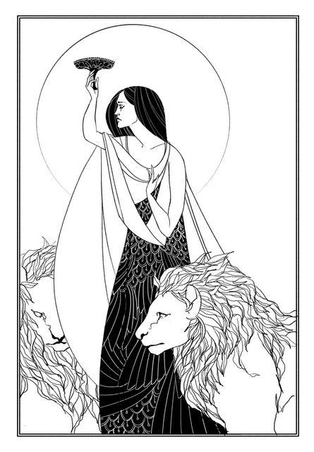 Ilustração de Aubrey Beardsley