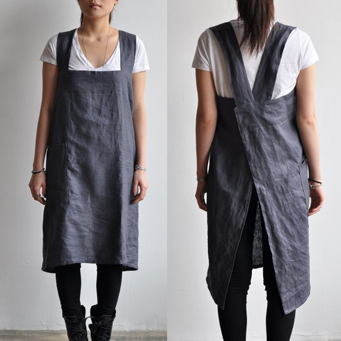 Bookhou - Smock Apron no pattern but great idea