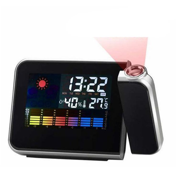 cool unusual gadget gift birthday present for him boytoy kid girl women dad lc01 projection alarm
