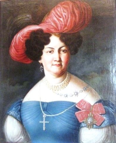 Портрет дамы из рода Пален. Екатерина Васильевна Пален, ур. Орлова (1790—1853)