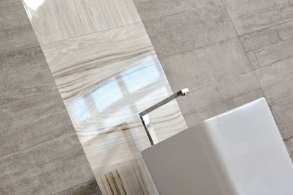 Love these tiles! Re-Use from DI lorenzo tiles Re-use is a collection of porcelain inspired by the look of raw concrete, and a particular marble which is often re-cycled from old Italian homes. Available in many colours and finishes, re-use looks amazing on its own, or combined with other products. Made In Italy