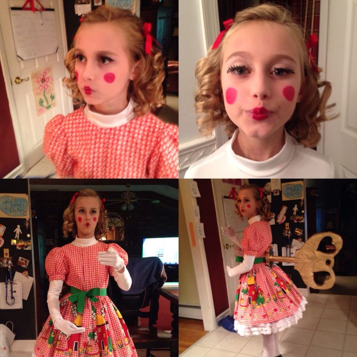 Wind up doll costume for Halloween