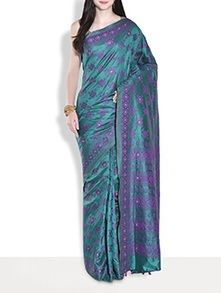 Check out what I found on the LimeRoad Shopping App! You'll love the Bottle Green Silk Sari. See it here http://www.limeroad.com/products/9683452?utm_source=3a6cf9723c&utm_medium=android