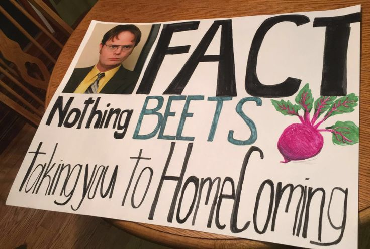 The office homecoming promposal!