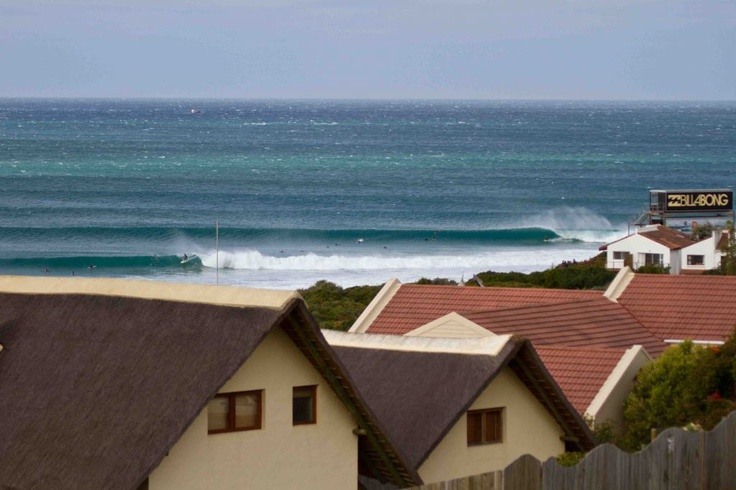 Dale Staples was the highest placed South African at the Billabong Pro J-Bay