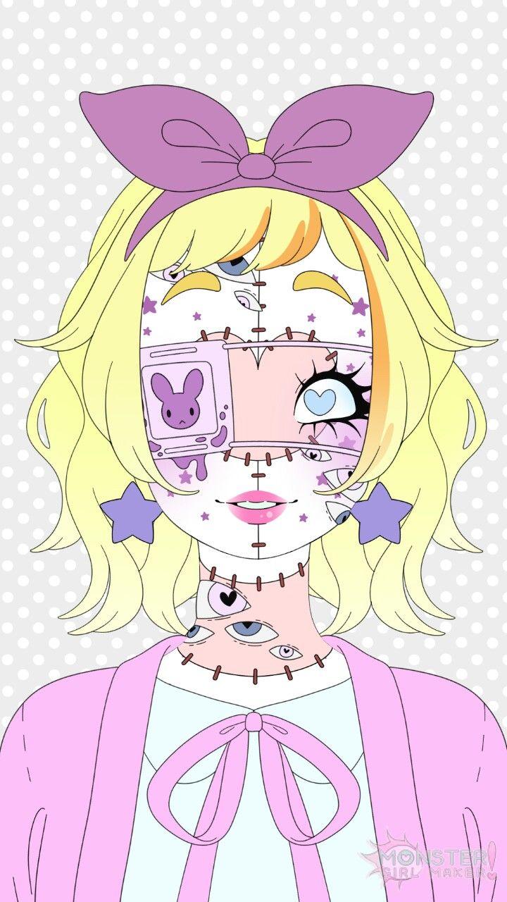 Pin by Pastel Bubblegum on Monster Girl Maker App Anime