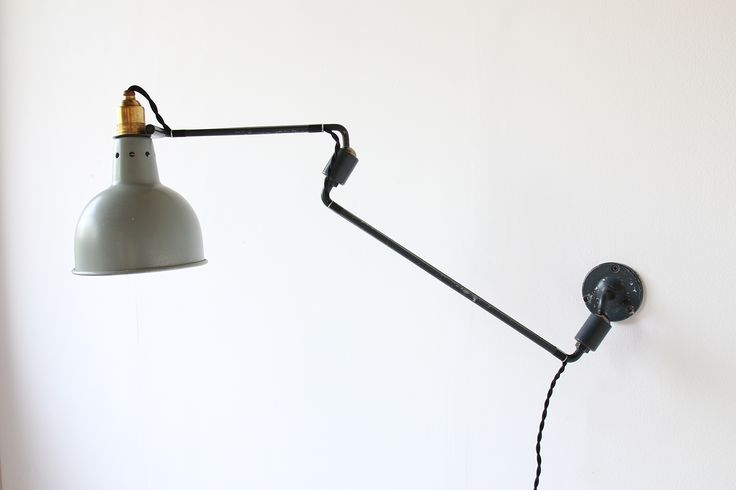 GEORGES HOUILLON WALL LAMP https://www.galerie44.com/collection/luminaires/applique-georges-houillon-abat-jour-vert-1930-details