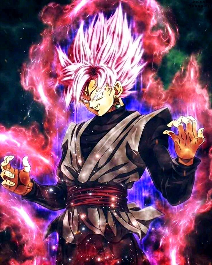 Super Saiyan Rosé Goku Black Super Saiyajin Rosé Goku Burakku